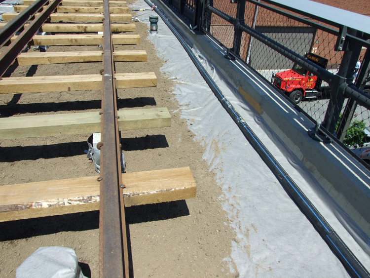 Subsoil Drainage Fabric : Subsoil delivery high line
