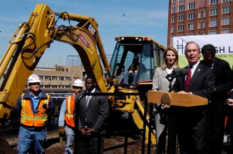 Mayor Bloomberg, speaking at the April 2006 High Line Groundbreaking Ceremony