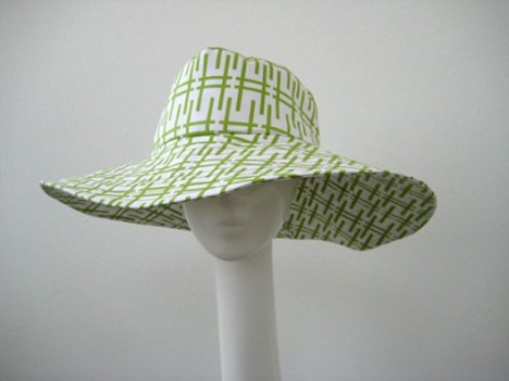Beach Hat by Trina Tirk, $120