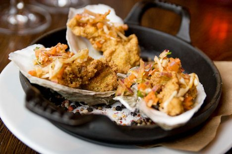 Fried Oysters. Photo from Serious Eats New York.