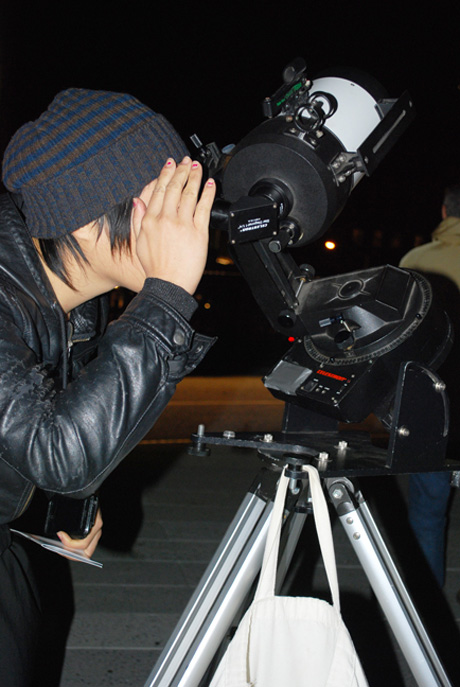 Observer Looking at Jupiter in the Eastern Sky